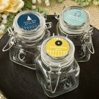 Aztec Wanderlust Design Apothecary Glass Jar Favors