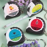 Key Chain and Measuring Tape Favors - Sweet 16