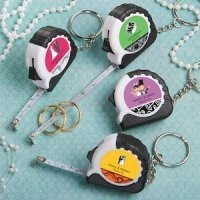 Key Chain and Measuring Tape Favors