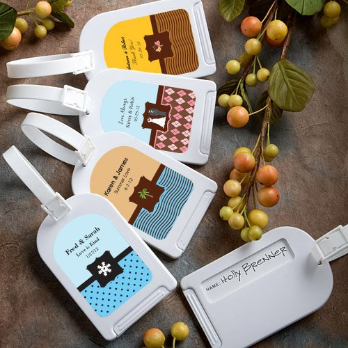 Personalised Luggage Tags Wedding Gift : By Susie from FloridaVerified Customer8/20/2015