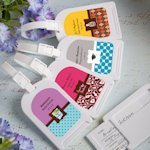 Sweet Celebrations Personalized Luggage Tags