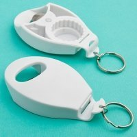 Perfectly Plain Bulk Bottle Opener/Key Chain Favors