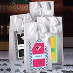 Personalized White Graduation Gift Boxes with Bow