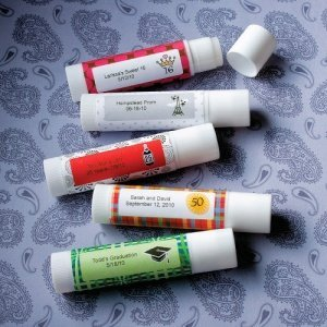 Personalized Themed Lip Balm Stick image