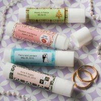 Personalized Lip Balm Wedding Favors - Chapstick Style