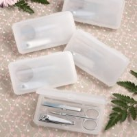 Perfectly Plain Collection Travel Manicure Sets