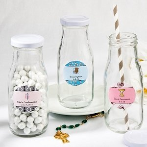 Design Your Own Religious Vintage Style Milk Bottles image