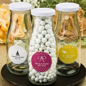 Aztec Wanderlust Design Collection Milk Bottle Favors image