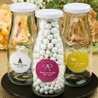 Aztec Wanderlust Design Collection Milk Bottle Favors