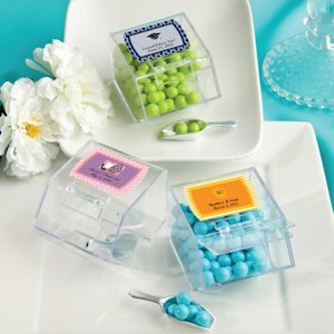 Personalized Candy Bin & Scoop Favors image