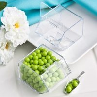 Perfectly Plain Candy Bin & Scoop Favors