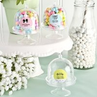 Personalized Cake Stand Box Wedding Favors