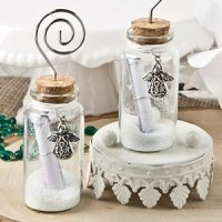 Guardian Angel Wishing Jar Place Card Holders