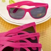 Hot Pink Personalized Sunglasses Favors