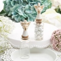Perfectly Plain Candy Jar with Ivory Guardian Angel
