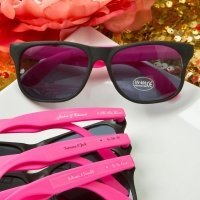 Personalized Collection Plastic Wayfarer Style Sunglass Favo