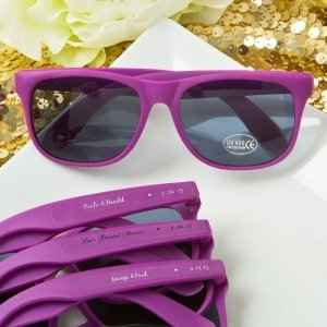 Personalized Collection Purple Fashion Sunglasses image