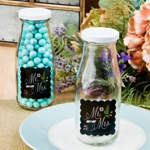 Mr & Mrs Design Vintage Milk Bottle image