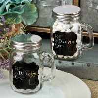 Best Day Ever Mini Glass Mason Jar