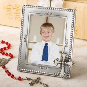 Cross Photo Frame Party Favors for Communions image