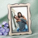 Victorian 4x6 Wedding Photo Frame Favors with Enamel Inlay