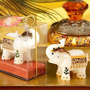 Good Fortune Elephant Candles image