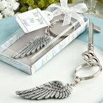 Angel Wing Key Chain Favors