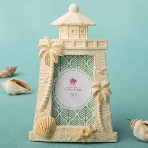 Beach Themed Light House Design Placecard Frame image