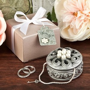 Pearl Flower Curio Boxes image