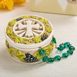 Holy Nature's Harvest Theme Trinket Box image