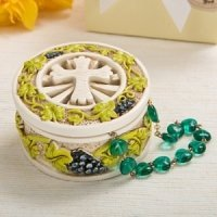Holy Nature's Harvest Theme Trinket Box