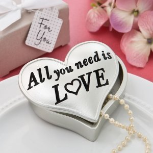 All You Need Is Love Heart Shaped Box image