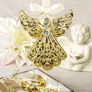 Magnificent Gold Angel Ornament Favors image