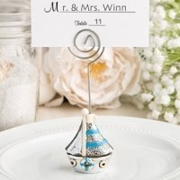 Nautical Theme Sail Boat Placecard Holders