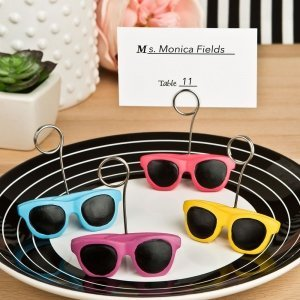 Fun in the Sun Sunglasses Design Placecard Holders image