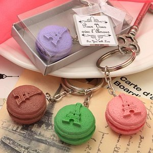 Adorable Macaron Key Chain Party Favors image