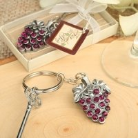 Grapevine Design Keychain Party Favors