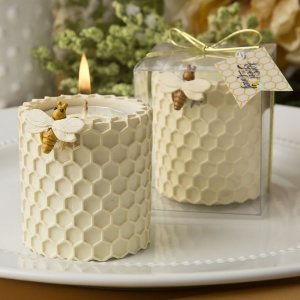 Honeycomb Design Tealight Candle Holder Favors image