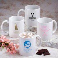 White Mug Personalized 1st Communion Favors (Many Designs)