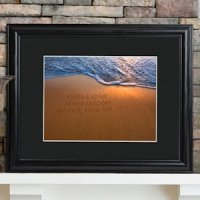 Sparkling Sands Personalized Wedding Print