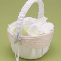 Destination Romance Beach Flower Girl Basket
