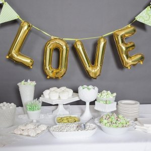 Love Balloon Kit - Silver or Gold (2 Sizes) image