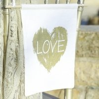 Brush of Love Banner Sign