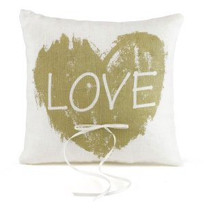 Brush of Love Ring Pillow image