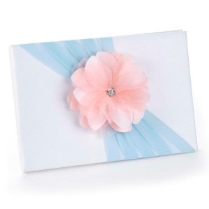 Pretty Petals Pastel Wedding Guest Book image