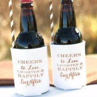 Cheers & Love Can Coolers (Set of 2)