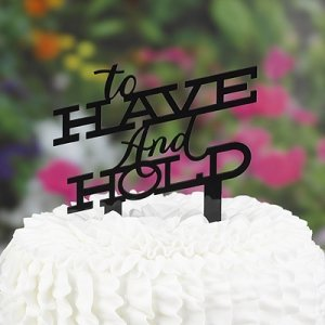 Have & Hold Cake Pick Topper image