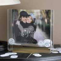 Always & Forever Wedding Wish and Keepsake Frame