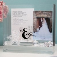 Mr. & Mrs. Wedding Wish Box and Keepsake Frame