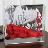 Love Acrylic Wish Card Box & Frame